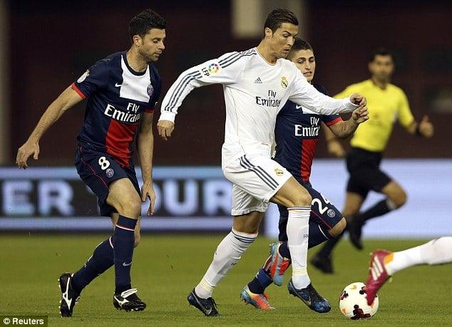 Real 1-0 PSG: Ibrahimovic vẫn không thể vượt qua Ronaldo 5