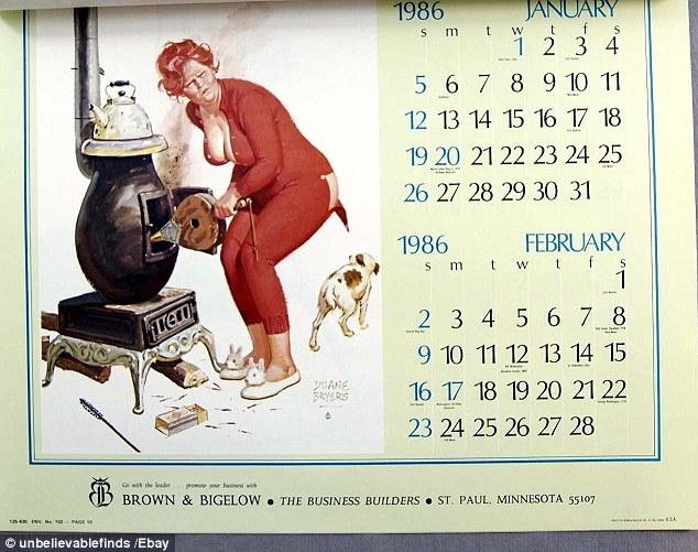 Năm mới 2014, lịch 1986 được coi là