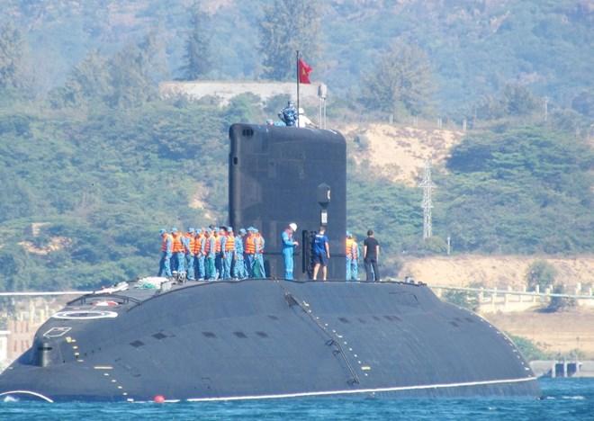 Tàu ngầm Kilo có thể bắn tên lửa vào nhiều mục tiêu 5