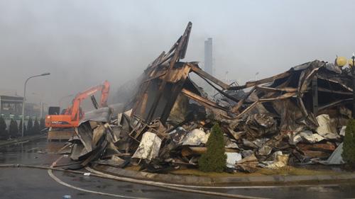 Cháy lớn ở nhà máy cung cấp phụ kiện điện thoại cho Samsung 9