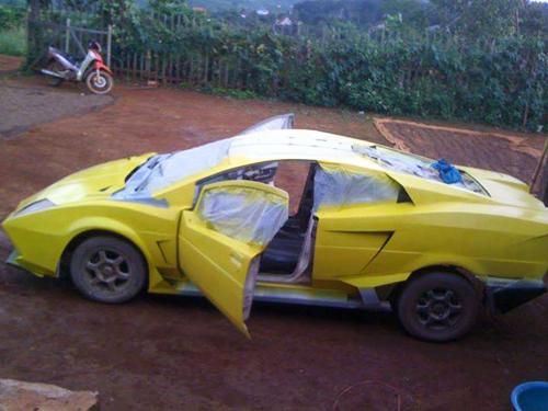 Việt Nam lắp ráp thành công Lamborghini 8