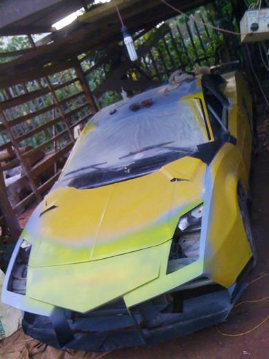 Việt Nam lắp ráp thành công Lamborghini 6
