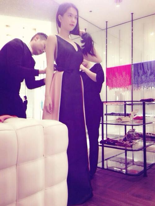 Ngọc Trinh chuẩn bị váy áo nửa tỷ sang Hàn Quốc gặp Won Bin 9