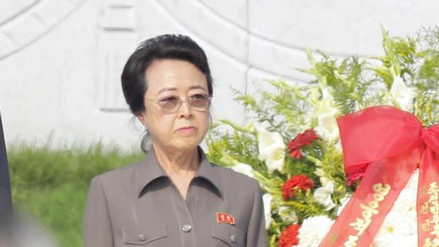 Vợ ông Jang Song-theak đang