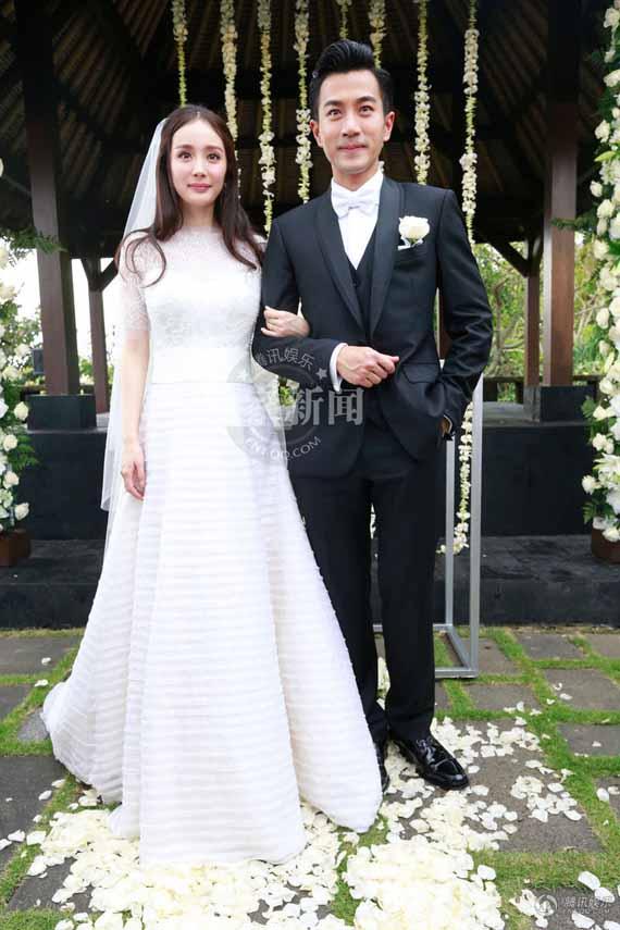 Toàn cảnh đám cưới xa xỉ của Dương Mịch - Khải Uy 6