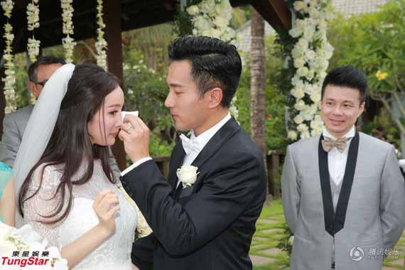 Toàn cảnh đám cưới xa xỉ của Dương Mịch - Khải Uy 7