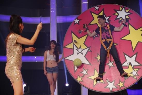Hình ảnh Đố ai hát được tập 3: Thu Minh trực tiếp hành hạ thí sinh số 1