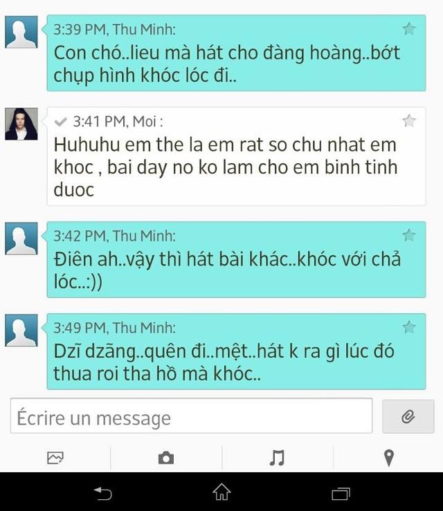 Lộ tin nhắn Thu Minh 'phũ phàng' với Nathan Lee 6
