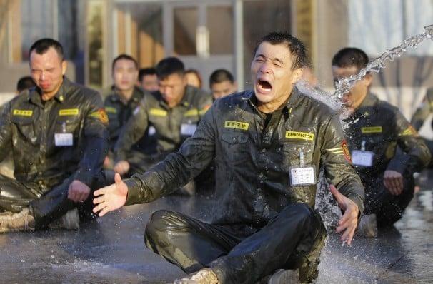 Sự khắc nghiệt trong trường đào tạo vệ sĩ của Trung Quốc 5