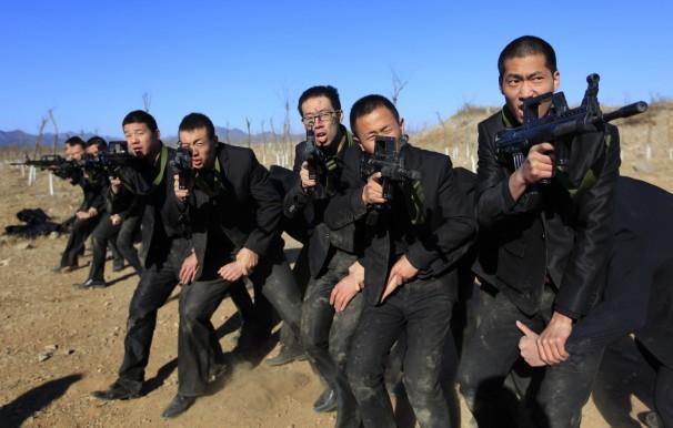 Sự khắc nghiệt trong trường đào tạo vệ sĩ của Trung Quốc 13