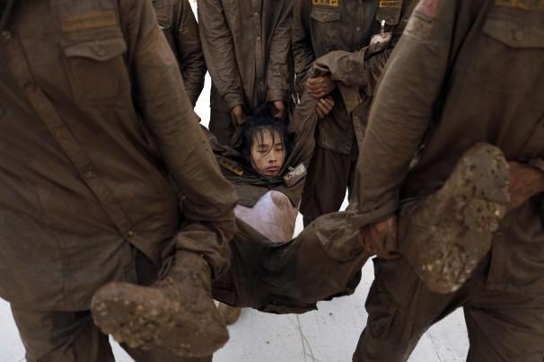 Sự khắc nghiệt trong trường đào tạo vệ sĩ của Trung Quốc 12