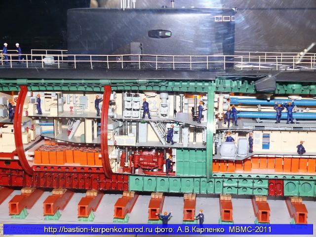 Sơ đồ cấu tạo tàu ngầm Kilo 6