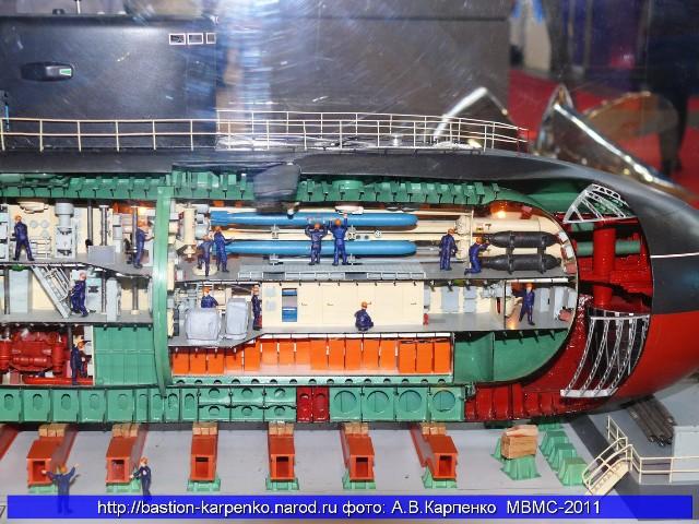 Sơ đồ cấu tạo tàu ngầm Kilo 7