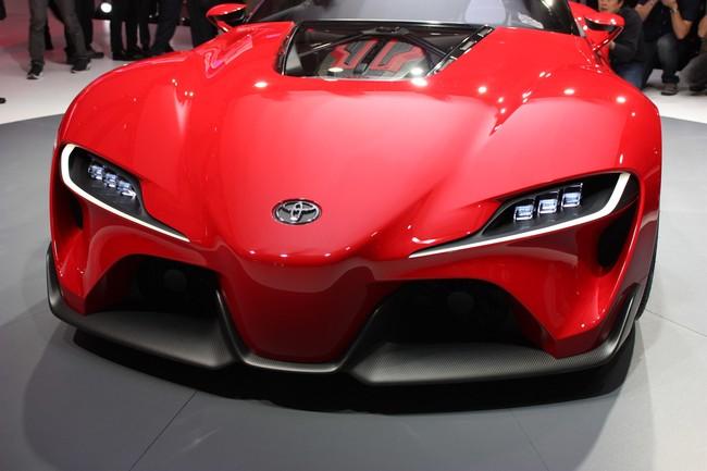 Detroit Auto Show 2014 : Toyota FT-1 - Tái sinh huyền thoại Supra 6