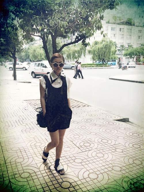 Thời trang thường ngày tươi trẻ của Văn Mai Hương 16