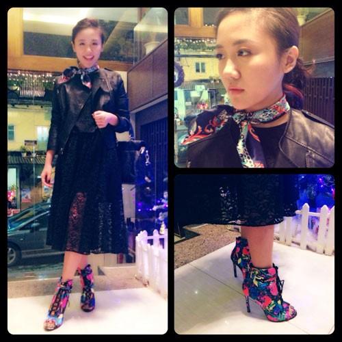 Thời trang thường ngày tươi trẻ của Văn Mai Hương 9