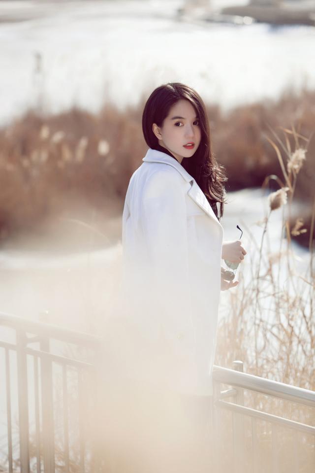 Ngọc Trinh xinh đẹp ở Seoul 5