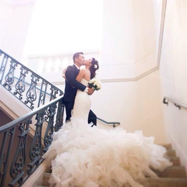 Trọn bộ ảnh cưới đẹp như mơ của Ngọc Quyên và chồng Tây 5