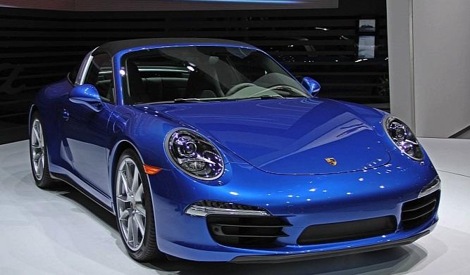 Detroit Auto Show 2014 : mui trần yêu kiều Porsche Carrera Targa 5