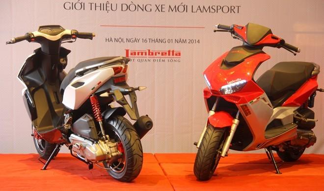 Hình ảnh Bốn tân binh 2014 của thị trường xe máy Việt Nam số 4