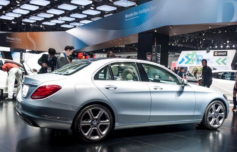 Detroit Auto Show 2014 : Mercedes C-Class : định nghĩa lại xe sang cỡ nhỏ 6