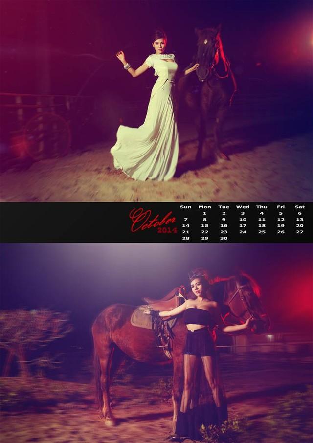 Bộ ảnh lịch truyền thống và sexy của hot girl Mai Thỏ 16