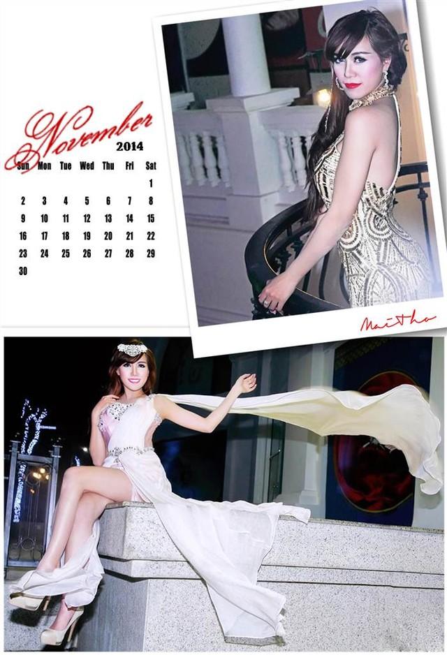 Bộ ảnh lịch truyền thống và sexy của hot girl Mai Thỏ 17