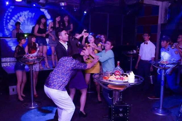 Xôn xao ảnh diễn viên trẻ Hồ Bích Trâm đánh nhau trong bar 6