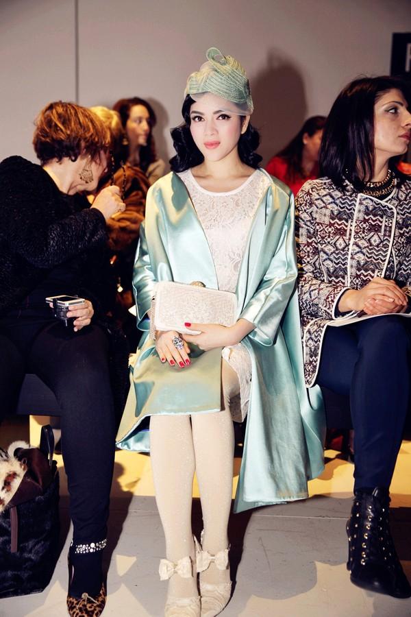 Lý Nhã Kỳ nổi bật cùng hàng hiệu tại Tuần lễ thời trang Paris 8
