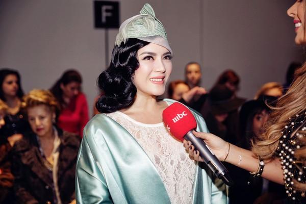 Lý Nhã Kỳ nổi bật cùng hàng hiệu tại Tuần lễ thời trang Paris 10