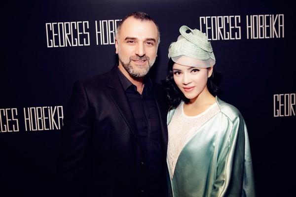 Lý Nhã Kỳ nổi bật cùng hàng hiệu tại Tuần lễ thời trang Paris 12