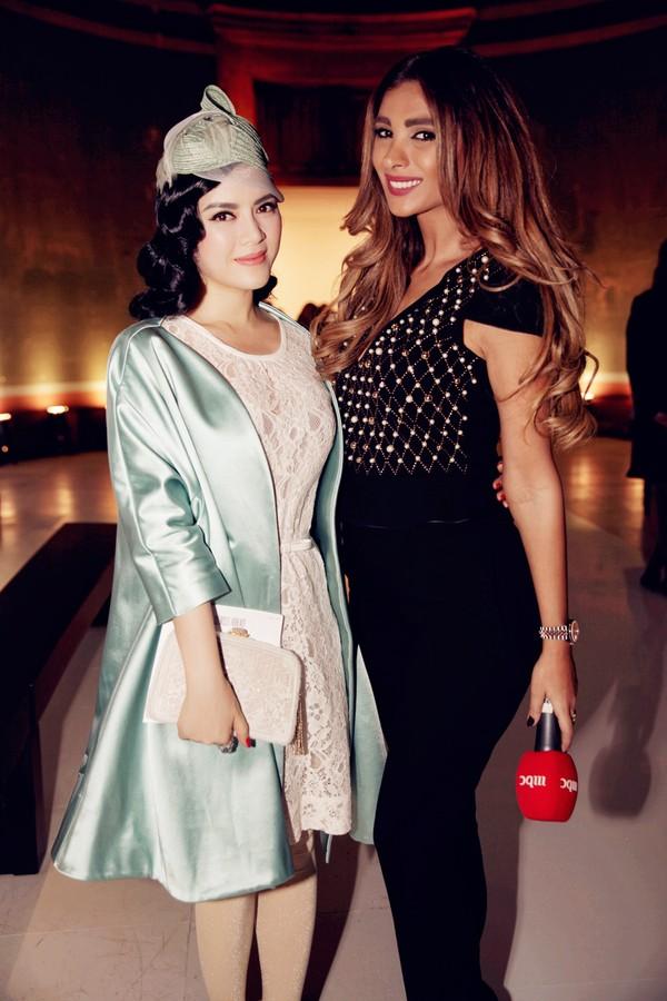Lý Nhã Kỳ nổi bật cùng hàng hiệu tại Tuần lễ thời trang Paris 13