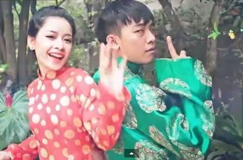 Hình ảnh Chi Pu, Running Man nhí nhố trong clip hài Tết Phở 8 số 2
