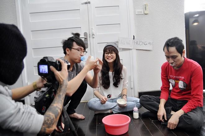 Hình ảnh Chi Pu, Running Man nhí nhố trong clip hài Tết Phở 8 số 8