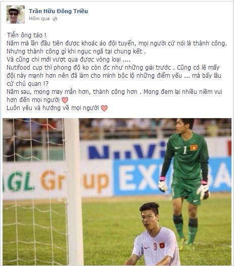 """Cầu thủ U19 Việt Nam """"báo cáo"""" với ông Công, ông Táo 6"""