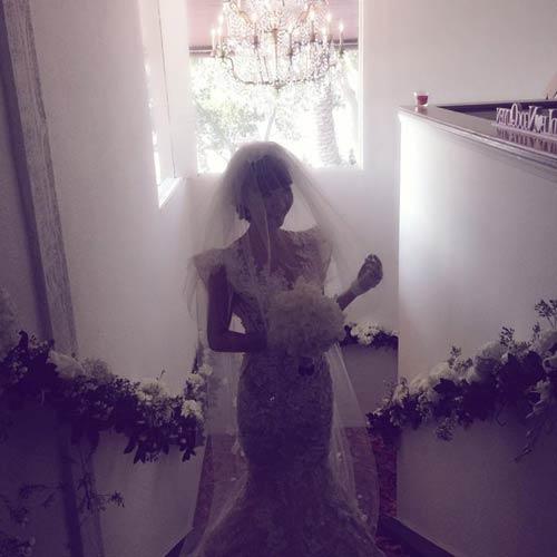 Ngọc Quyên sang trọng trong váy cưới 200 triệu 7