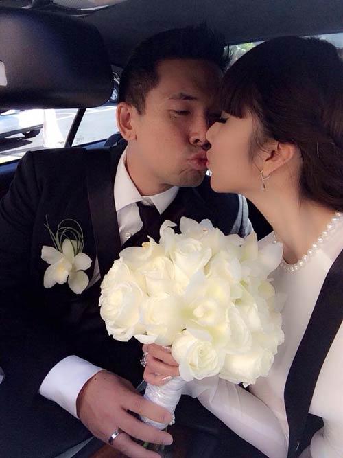 Ngọc Quyên sang trọng trong váy cưới 200 triệu 9