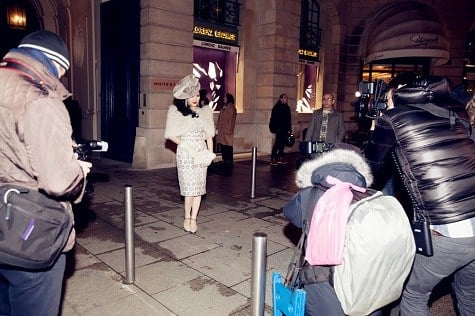 Lý Nhã Kỳ ghi dấu ấn với phong cách cổ điển ở tuần lễ thời trang Paris  6