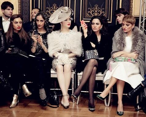 Lý Nhã Kỳ ghi dấu ấn với phong cách cổ điển ở tuần lễ thời trang Paris  9