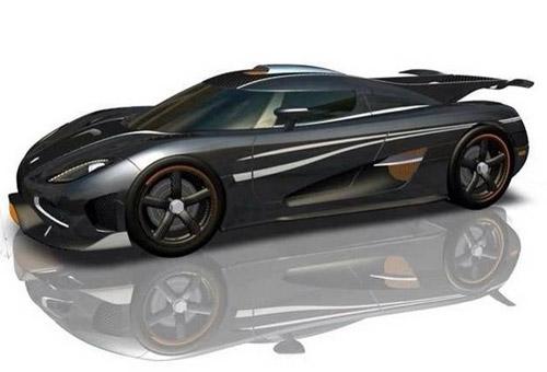 Koenigsegg One:1 đánh bại Bugatti Veyron về tốc độ 8