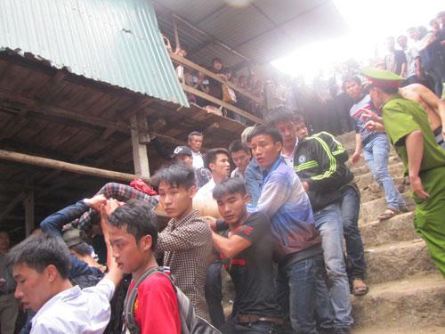 Bắt hung thủ đâm chết người tại chùa Hương Tích 5