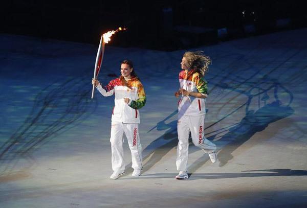 Những hình ảnh tuyệt mỹ trong lễ khai mạc Olympic Sochi 2014 8