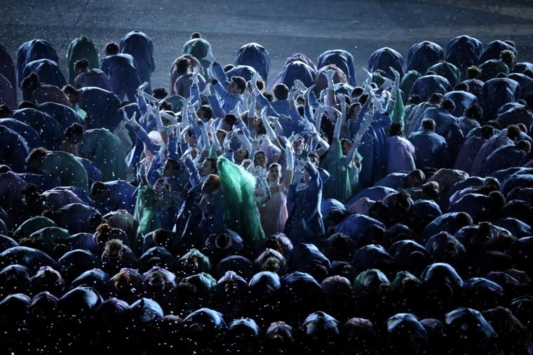 Những hình ảnh tuyệt mỹ trong lễ khai mạc Olympic Sochi 2014 7
