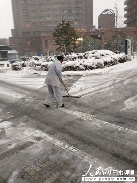 Nhật Bản: Tuyết rơi khủng khiếp nhất 20 năm qua 11