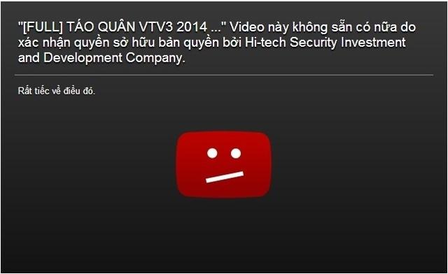 Phát tán clip Táo Quân 2014 trái phép, Youtube bị khởi kiện 7