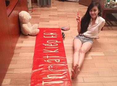 Bà Tưng trổ tài làm MC trong chương trình ngày Valentine 6