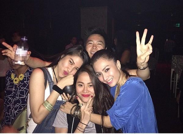 Hậu chia tay, Lê Hiếu vui vẻ đi bar với Tăng Thanh Hà  7