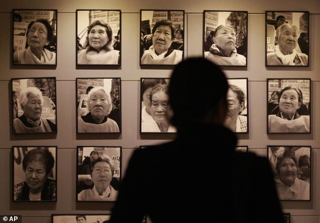 Chùm ảnh: Nô lệ tình dục Hàn Quốc mòn mỏi chờ người Nhật xin lỗi 7
