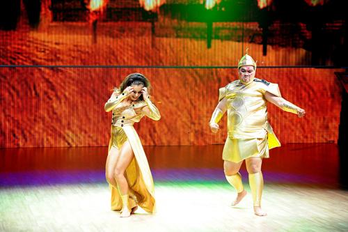 Bước nhảy hoàn vũ: Hoàng Mập nhảy tốt nhất vẫn phải… dừng chân 5