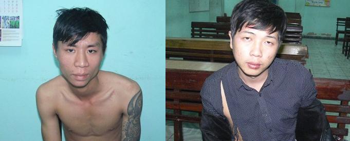2 tên cướp vừa ra tù 1 tháng lại rủ nhau giật dây chuyền 4